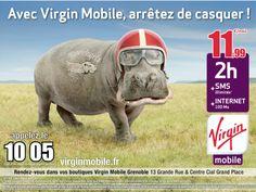 Virgin Mobile / arrêtez de casquer!