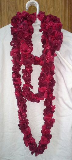 Beautiful Velvet Red Truffle Infinity Scarf by crazyforcolors2, $16.00