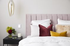 Add to the warmth of your home with our collection of unique homewares online, designed for a complete look and feel. Select from your favourite brands of homewares Australia wide. Bedroom 2018, Master Bedroom, Bedrooms, Bedside Table Height, The Block Room Reveals, Lights Over Dining Table, Large Round Table, 1980s Design, Mirrored Nightstand