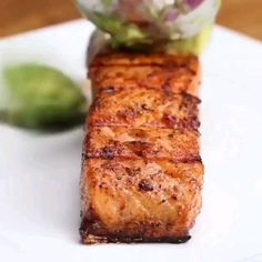 Grilled Salmon And Avocado Salsa! by - Laurena Avison Ranch Fried Chicken, Fried Chicken Recipes, Seafood Recipes, Low Carb Recipes, Diet Recipes, Healthy Recipes, Recipies, Salmon With Avocado Salsa, Food Program