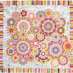 The Mischief quilt is chocked full of many different color options to play with, perfect for beginning or intermediate quilters.