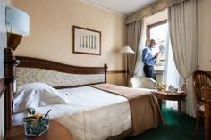The rooms, divided into Classic, Executive and Junior Suites, are spacious and elegant, finely finished in period furniture, and provided with all comforts.