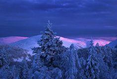 Sininen hetki photo by Jorma Hevonkoski