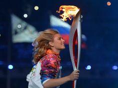 Febryary 06 2014, Olympic Winter Games, Sochi, Russia. Tennis player Maria Sharapova.
