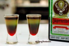 MEISTER ON MARS  Orange Juice Jagermeister Blue Curacao Grenadine