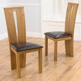Found it at Wayfair.co.uk - Wilmington Solid Oak Upholstered Dining Chair