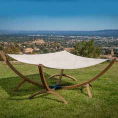 Found it at AllModern - Trikomo Olefin Hammock with Stand
