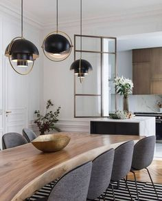 Dining Room Inspiration, Interior Inspiration, Küchen Design, House Design, Design Ideas, Dining Room Design, Home Interior Design, Sweet Home, New Homes