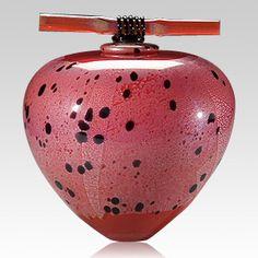 A very cute urn!