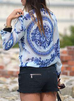 Porcelain Print  #Graphic #Shirts & Blouses .. I want this shirt