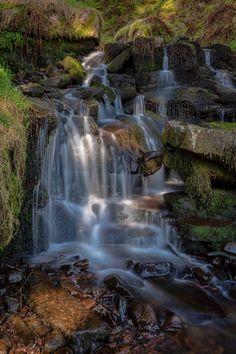Blaen y gwyn cascade by Steve Norgrove