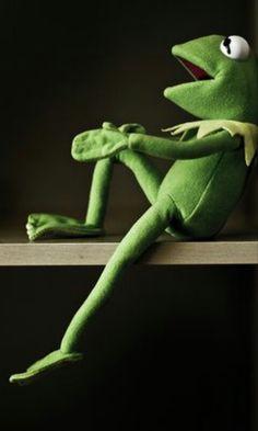 Frog Wallpaper, Funny Phone Wallpaper, Sapo Kermit, Sapo Meme, The Muppet Show, Beautiful Lyrics, Yearbook Photos, Kermit The Frog, Jim Henson