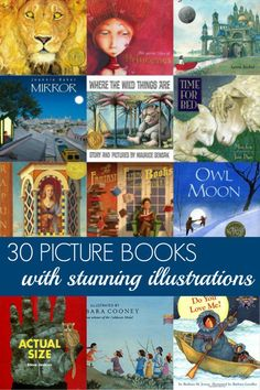 Choose books with captivating illustrations and your child will fall in love with books forever! 30 of our favourite picture books, each with stunning illustrations and fabulous storylines too!
