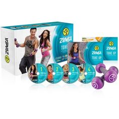 Zumba Tone Up DVD System | One of my instructors swears by this program. She wanted to do this at my gym but they didn't let her because its a conflict with a similar class they already have.