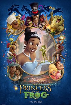 "The Princess and the Frog - Prințesa și Broscoiul. Sinoposis The Princess and the Frog: ""The princess and the frog"" este un musical si un film de familie ce Disney Pixar, Walt Disney, Disney Films, Disney Animation, Disney Love, Disney Magic, Movies To Watch, Good Movies, Movies Free"