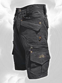 Men Short Pants Hipster, Tribal, Steampunk, Adventure Wear, Burning Man, Suit, Pocket Pants, Brass hard wear, by fairyland6 on Etsy https://www.etsy.com/listing/256472894/men-short-pants-hipster-tribal-steampunk Hippie Hoodie, Cargo Shorts For Men, Men's Cargo Pants, Men Shorts, Men Pants, Unique Hoodies, Tactical Clothing, Tactical Pants, Burning Man Men