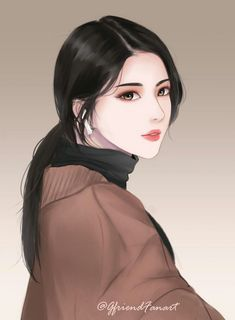 Gfriend Sowon fanart Manga Girl, Chica Anime Manga, Anime Art Girl, Kawaii Anime, Digital Art Anime, Digital Art Girl, Pretty Anime Girl, Beautiful Anime Girl, Lovely Girl Image