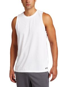 58849484 ASICS Men's Ready Set Singlet,White,Medium - Products Lists of Tools and  Hardware