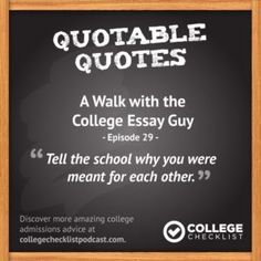 Check out my interview with  @HigherScores: A Walk with the College Essay Guy