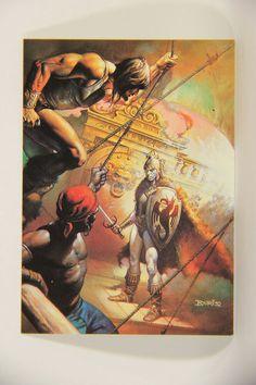 L010253 Boris Vallejo 1991 Card / Phantom Of The Sea - 1977 - Card #56 / ARTWORK