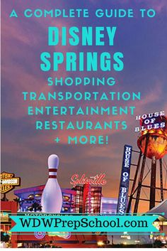 Disney Springs at Walt Disney World | Tips for your next Disney World trip | Find out the best way to get there and what to see, do (and where to shop!) when you arrive.