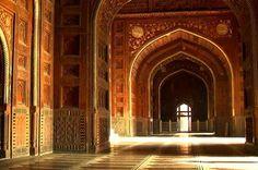 Taj inside