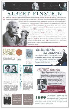 Biografía de Albert Einstein | Infografía | Infografias - Las mejores infografias de Internet - Internet Infographics