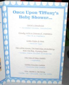 """""""Once Upon A Time"""" Baby Shower Party Ideas 