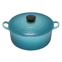 Le Creuset Enameled Cast-Iron 7-1/4-Quart Round French Oven. The whole collection PLEASE
