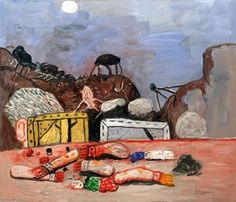 lune - (Philip Guston)