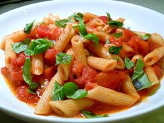 Vanilla Clouds and Lemon Drops: Penne Arrabiata or 'Fiery Pasta'!