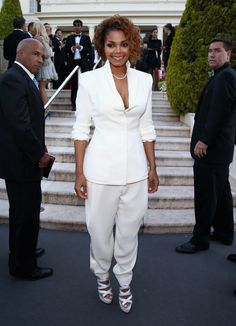 Welcome to the billionaires' club. Janet Jackson, who recently hit billionaire status,�arrives at amfAR's Cinema Against AIDS event on May 23 in Cannes, France�