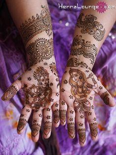 Krishna Radha bridal style