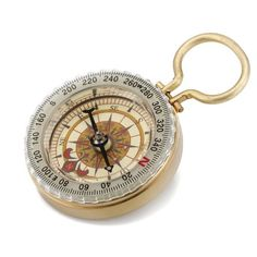 Compass. Timeless tech to help him reach the north pole.