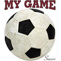 My Game Soccer by Mychristianshirts on Etsy