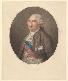 Portrait of Louis XVI, late 18th C engraving, French school