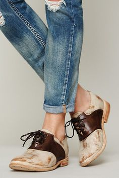 9 Totally Modern Takes On The Classic Saddle Shoe #refinery29