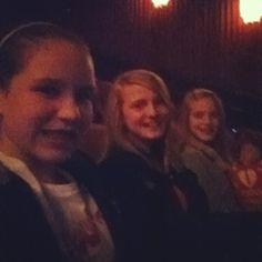 Movie with Mikhaila and Abby!