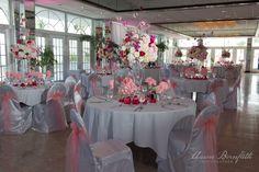 Pink and White wedding.  Grand Plaza resort.  St Pete Beach, Florida.