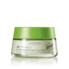 Oriflame Optimals Matte Touch Night Gel-Cream (20277) - For perfectly matte, fresh-looking skin without shiny areas. Optimals Matte Touch Formula with Equalising Complex neutralises imperfections on your skin, leaving it purified and balanced. Dry areas are left moisturised and smooth. 50 ml.