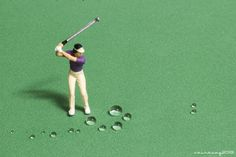 Miniature Photography: Golf by sairacaz (Abad Torres)