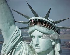 Image result for statue of liberty crown
