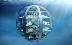 Humans will live underwater in 100 years' time as the population is squeezed out…