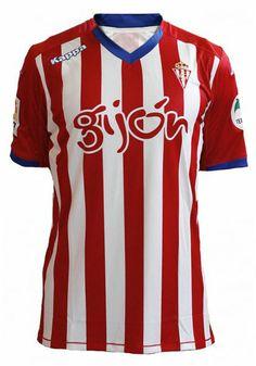 El Sporting de Gijón pone a la venta su camiseta oficial 2014/15