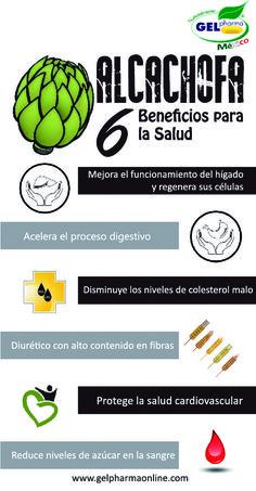 6 BENEFICIOS PARA LA SALUD DE LA ALCACHOFA