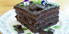 Sjokoladekake FRI FOR gluten og melk. Norwegian Food, Norwegian Recipes, Cake Recipes, Sweets, Snacks, Baking, Desserts, Cakes, God