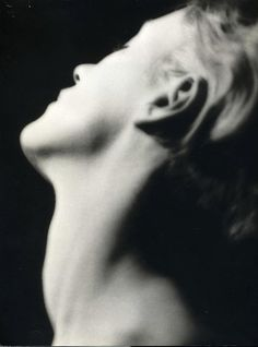 Lee Miller's Neck ( from the series Anatomy), 1929, photo by Man Ray via lacremadellacrema