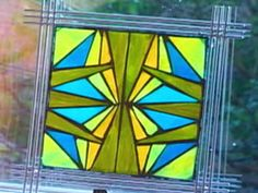 How to Make Mosaic Stained Glass Art : Decorating : Home & Garden Television