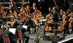 Nicola Benedetti performs at the 34th BBC Prom with the Bournemouth Symphony Orchestra conducted by Kirill Karabits
