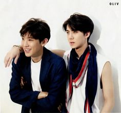 Chanyeol and Sehun for Ceci Magazine August 2015